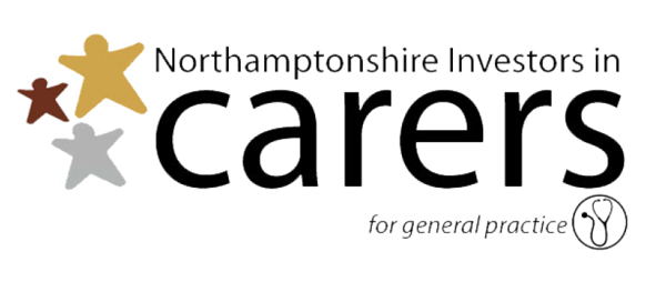 nvestors in Carers GP logo